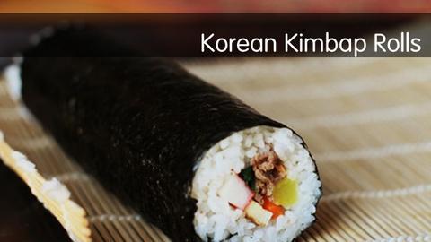 Kitchen Explorers -- Korean Kimbap Rolls