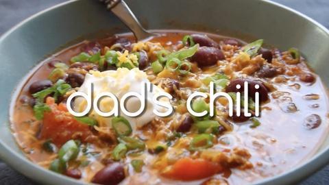 Kitchen Explorers -- Dad's Chili