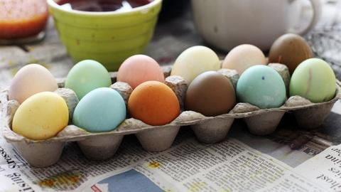 Kitchen Explorers -- How to Naturally Dye Easter Eggs