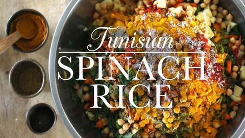 Kitchen Vignettes -- S1 Ep17: Tunisian Spinach Rice