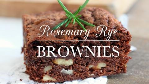 Kitchen Vignettes -- S2 Ep8: Rosemary Rye Brownies
