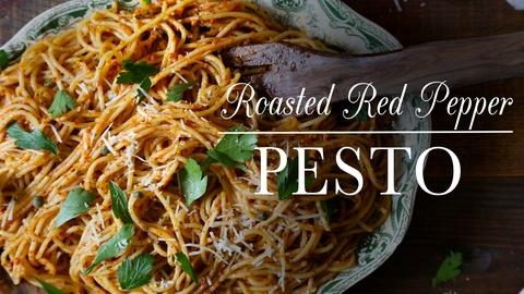 Kitchen Vignettes -- S3 Ep3: Roasted Red Pepper Pesto