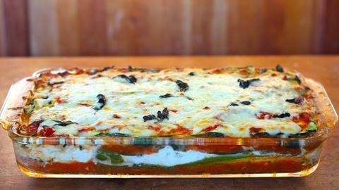 Kitchen Vignettes -- Zucchini Lasagna