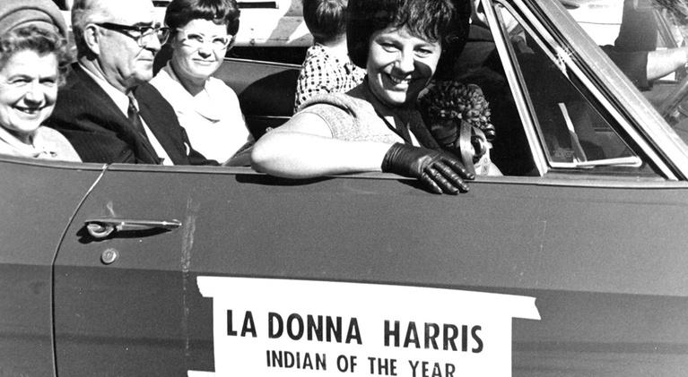 LaDonna Harris: Indian 101: Woman in the News