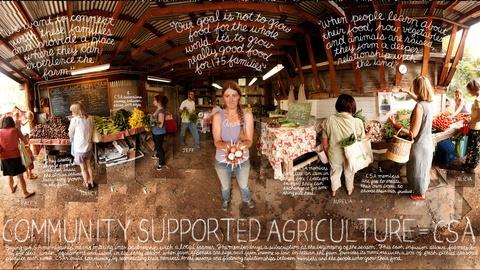The Lexicon of Sustainability -- Community Supported Agriculture (CSA)