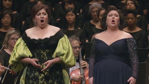 Live From Lincoln Center -- La Gioconda, or, the Ballad of Christine and Jamie