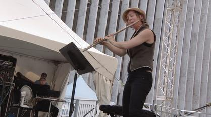 """Live From Lincoln Center -- Claire Chase and Rand Steiger: Mostly Mozart's """"50 for 50"""""""