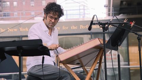 "Live From Lincoln Center -- Nathan Davis, dulcimer: Mostly Mozart Festival's ""50 for 50"""