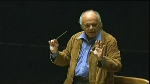 Live From Lincoln Center -- S33: Lorin Maazel: How The Maestro Conducts Himself