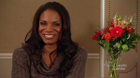 Live From Lincoln Center -- Audra McDonald Rapid-Fire Interview