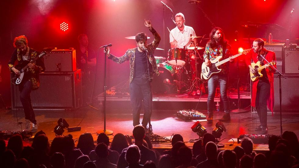 Young the Giant at the El Rey Theatre in Los Angeles image