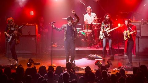 Young the Giant at the El Rey Theatre in Los Angeles