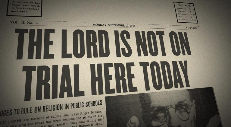 The Lord Is Not On Trial Here Today: Preview Trailer