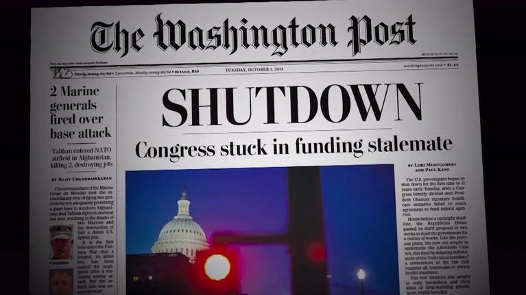 Makers: Women Who Make America: MAKERS Women in Politics: Government Shutdown