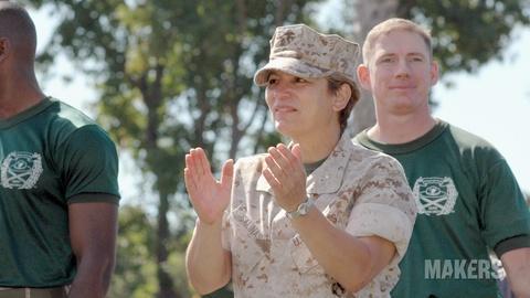 Makers: Women Who Make America -- Angela Salinas, Retired Major General, U.S. Marine Corps
