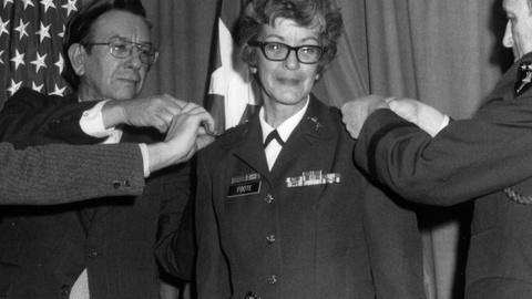 Makers: Women Who Make America -- Retired U.S. Army Brigadier General Pat Foote