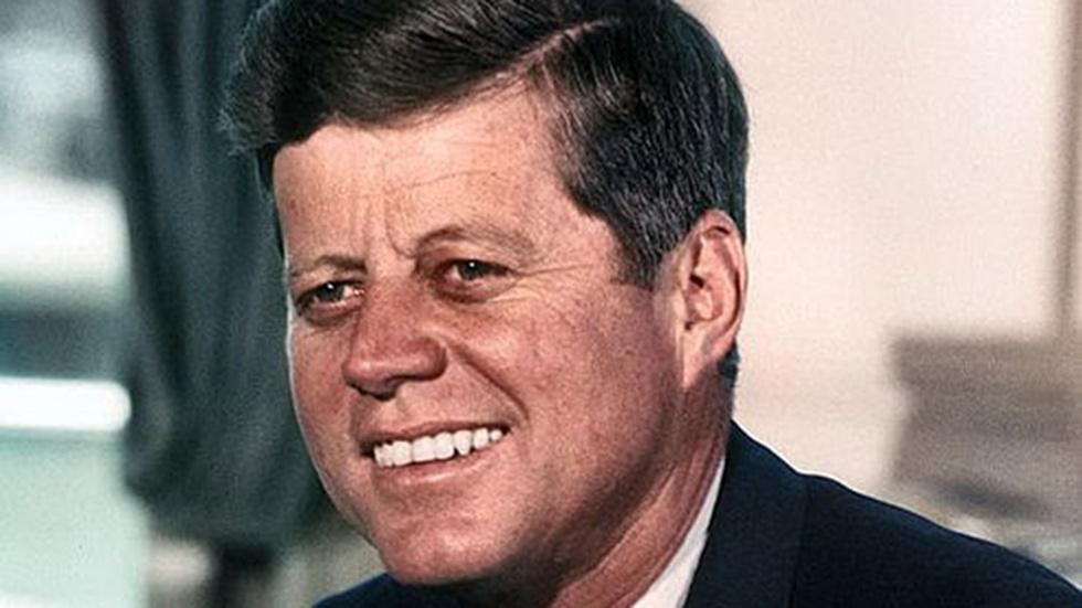 The March: John Fitzgerald Kennedy image