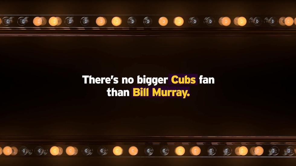 There's No Bigger Cubs Fan than Bill Murray image