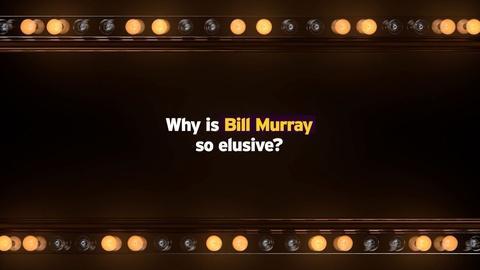 Mark Twain Prize -- The Elusive Bill Murray