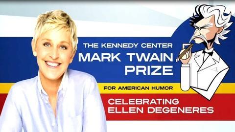 Mark Twain Prize -- S2012 Ep1: Ellen DeGeneres: The Kennedy Center Mark Twain Pr