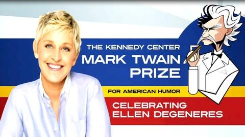 S2012 E1: Ellen DeGeneres: The Kennedy Center Mark Twain Prize