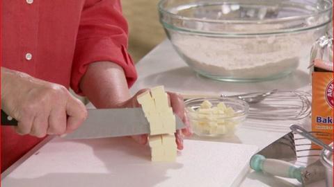 Martha Bakes -- Cutting Butter