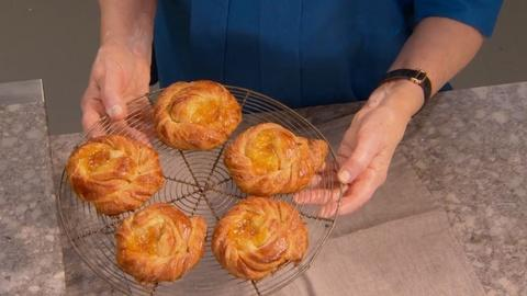 Martha Bakes -- Making Individual Danishes from Danish Pastry Scraps