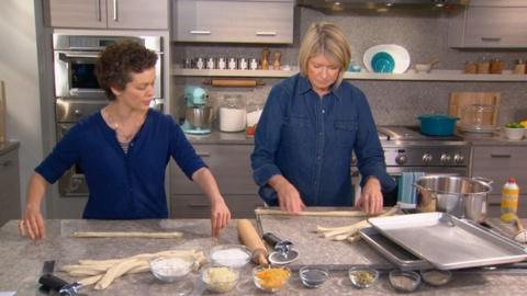 Martha Bakes -- How to Maintain a Smooth Glossy Pretzel Surface