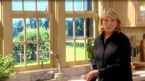 Martha Stewart's Cooking School -- Martha Stewart Tip: Washing Rice