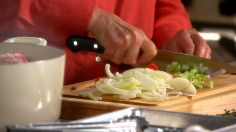 Martha Stewart's Cooking School -- Do You Know What a Mirepoix is?