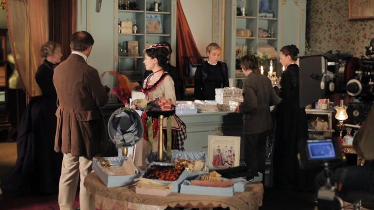 The Paradise: Cast and Creators on the Set Design