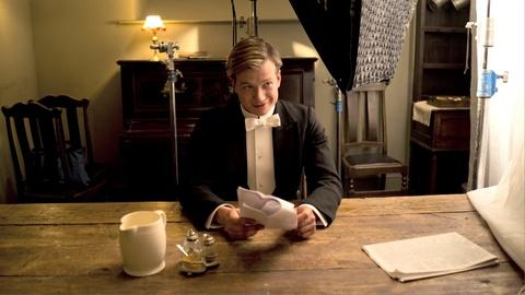Downton Abbey - Masterpiece -- S4: The Cast on New Scripts