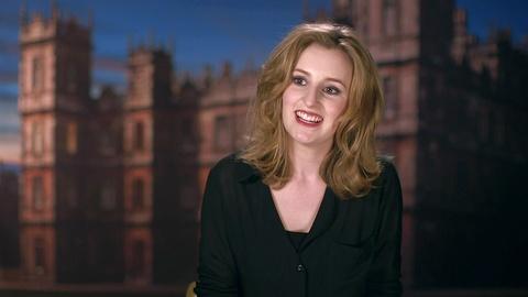 Downton Abbey - Masterpiece -- S4: Cast & Creator on Lady Edith