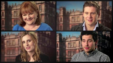 Downton Abbey - Masterpiece -- S4: Cast Hopes for Season 5
