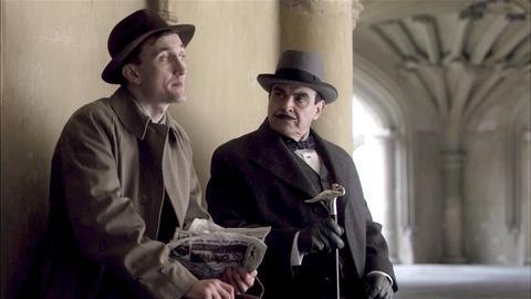 Hercule Poirot -- Scene