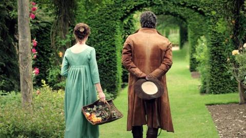 Death Comes to Pemberley -- The Cast on Lizzy and Darcy