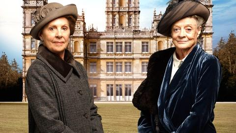 Downton Abbey -- Violet & Isobel - Queen of the Quip?
