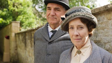 Downton Abbey -- Carson & Mrs. Hughes
