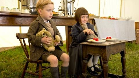Downton Abbey -- Children on the Set