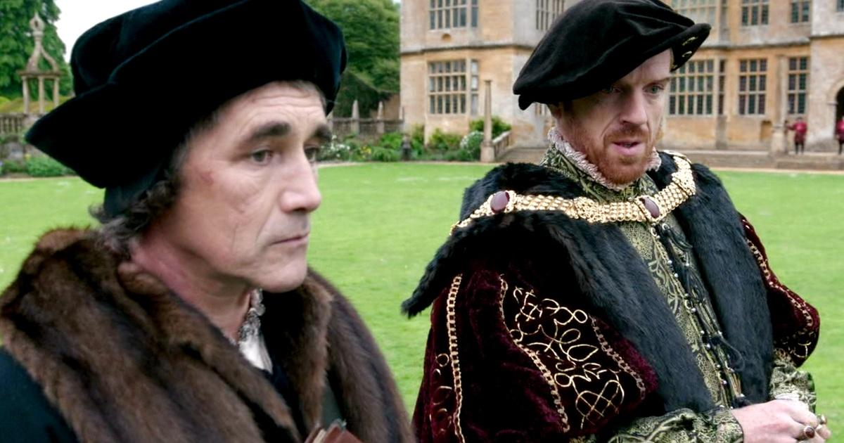 Image result for damian lewis claire foy wolf hall