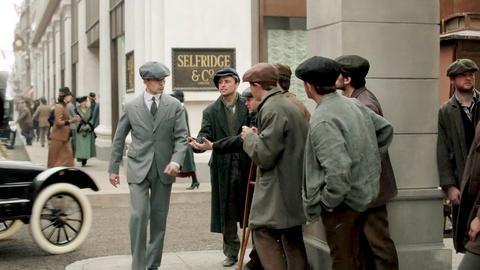 Mr. Selfridge -- Returning Soldiers