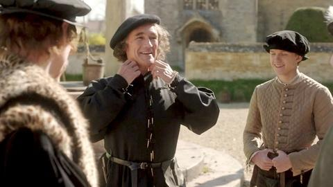 Wolf Hall -- On Set