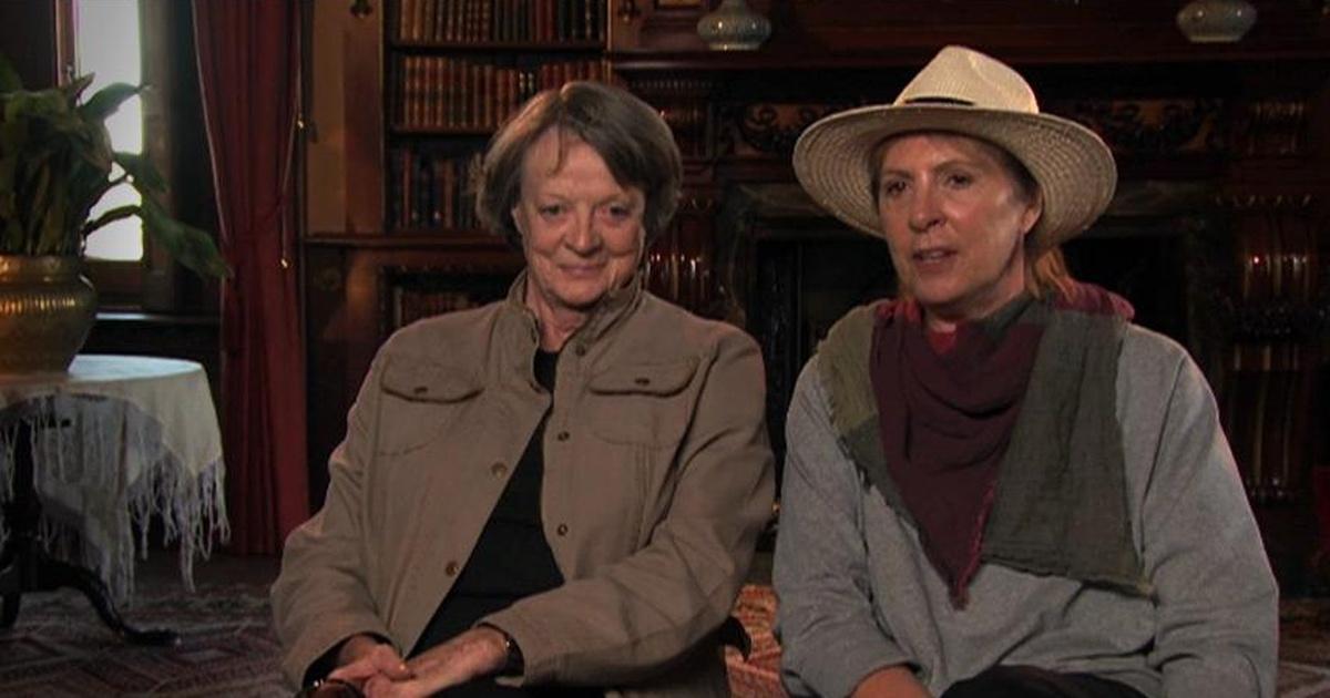 Maggie Smith and Penelope Wilton Script   Downton Abbey   PBS