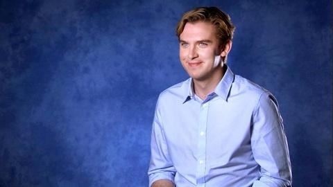 Downton Abbey - Masterpiece -- Dan Stevens on Matthew and Mary
