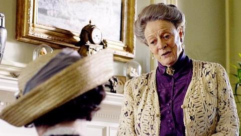 Downton Abbey -- Elizabeth McGovern on A Favorite Scene with Maggie Smith