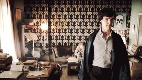 Sherlock -- Scene