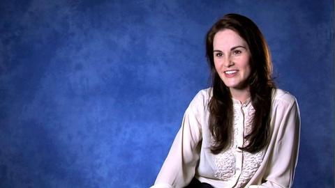 Downton Abbey - Masterpiece -- Michelle Dockery on Costumes