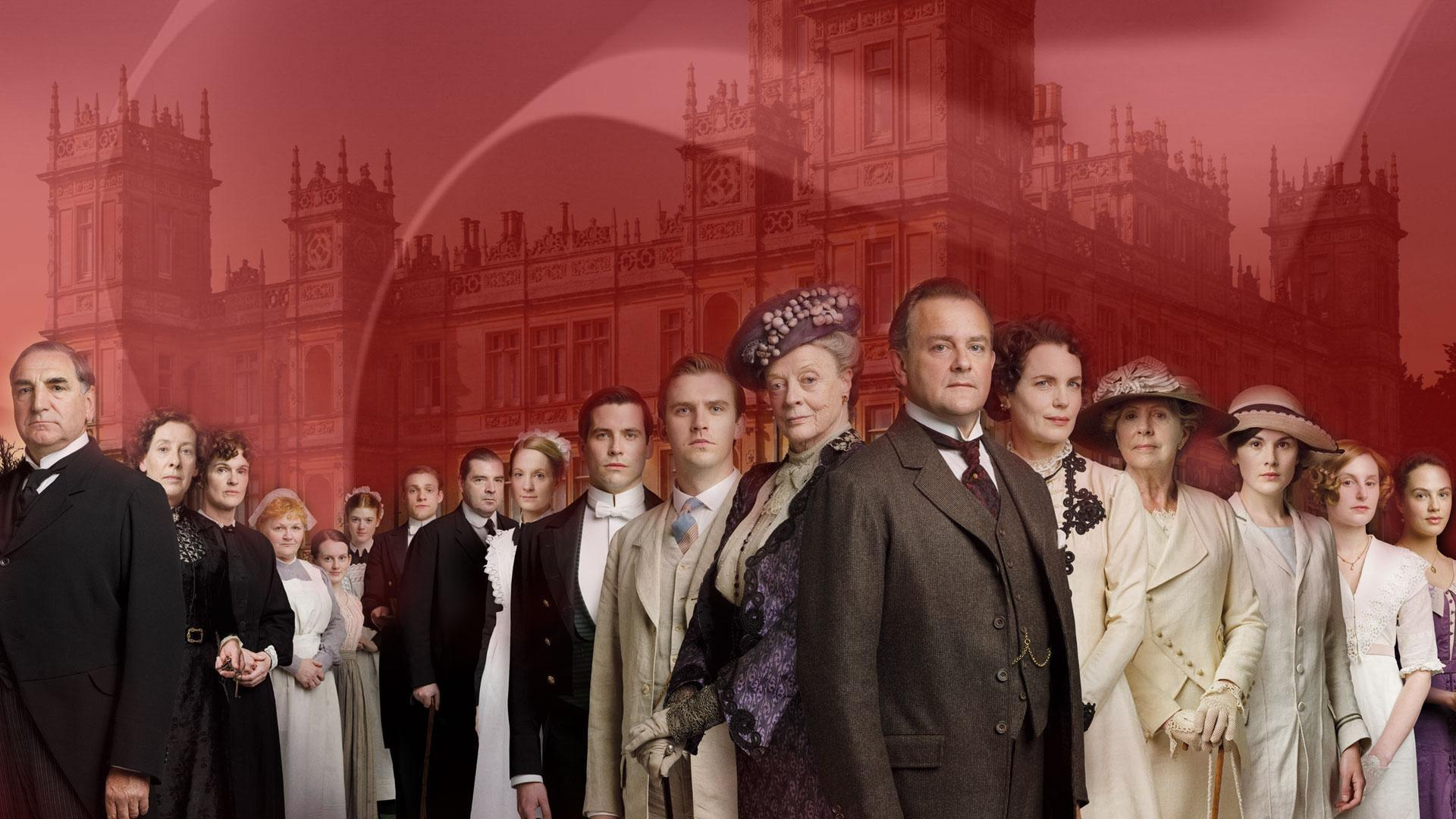 The Downton Abbey Cast Signature Image