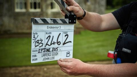 Endeavour - Masterpiece -- S3: On Set