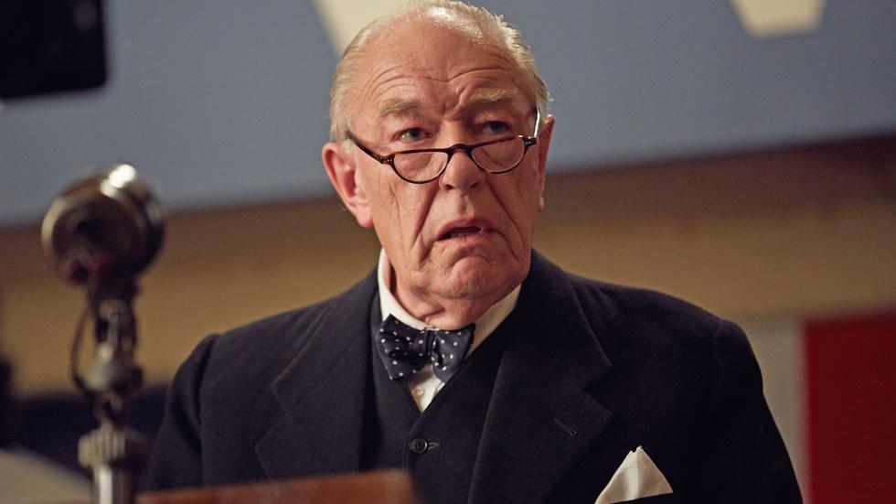 Michael Gambon on Playing Churchill image